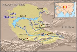 Balkhash basin